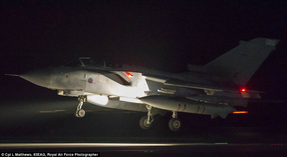 4B23EDFC00000578 5614593 An RAF Tornado comes into land at RAF Akrotiri after concluding a 16 1523686622867