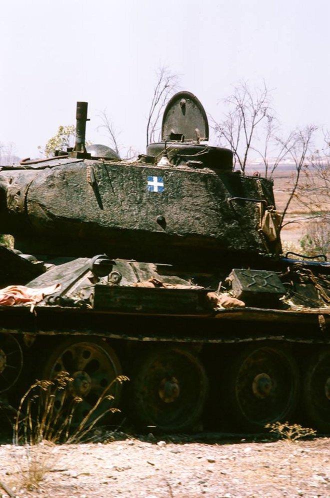 Συνολικά η 23 ΕΜΑ έχασε 22 άρματα στον πόλεμο...