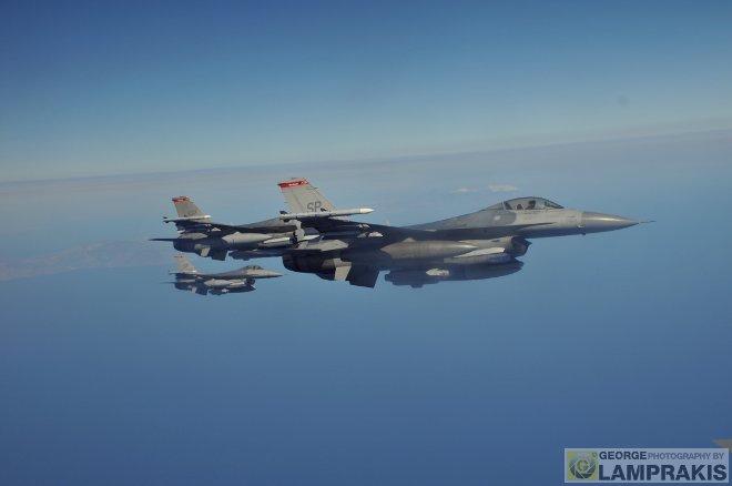 Αυτή τη φορά ήταν η σειρά της 480th Fighter Squadron η οποία εδρεύει στην Αεροπορική Βάση Spangdahlem στην Γερμανία και επιχειρεί με μαχητικά F-16CM.