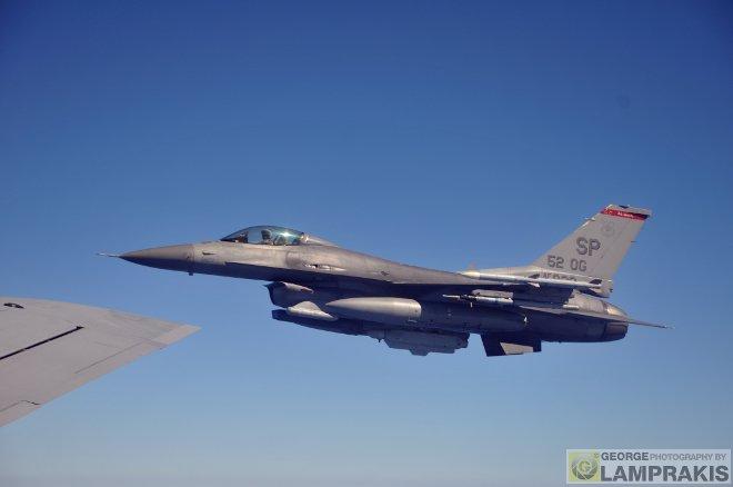 Η συνεκπαίδευση της Πολεμικής Αεροπορίας με τις Αμερικάνικές Αεροπορικές Δυνάμεις που εδρεύουν στην Ευρώπη (United States Air Forces in Europe – USAFE), εντάσσεται στο πλαίσιο της στενής συνεργασίας των δύο πλευρών.
