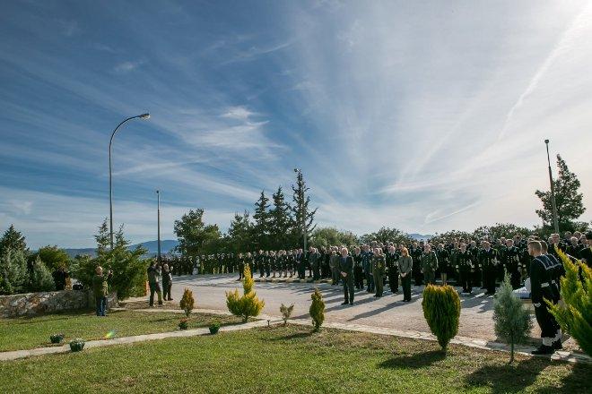 Επιμνημόσυνη δέηση στη μνήμη των Πεσόντων της Ναυτικής Αεροπορίας και των Πεσόντων Αξιωματικών στα Ίμια την 31η Ιανουαρίου 1996.