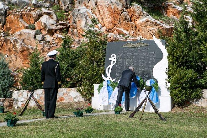 Επιμνημόσυνη δέηση στη μνήμη των Πεσόντων της Ναυτικής Αεροπορίας και των Πεσόντων Αξιωματικών στα Ίμια.