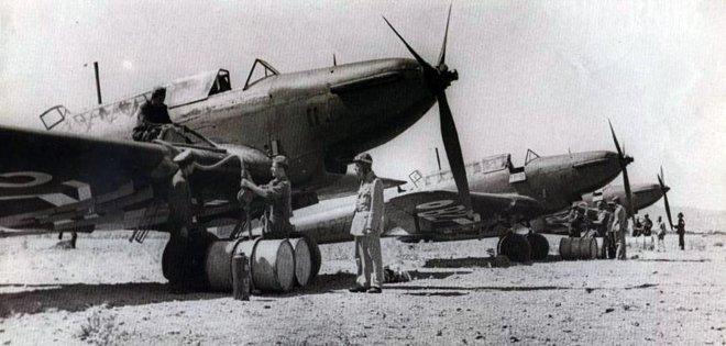 κατά την έναρξη των επιχειρήσεων, υπήρχαν 158 πολεμικά αεροσκάφη, όλων των τύπων, ενταγμένα στις Μονάδες, από τα οποία φέρονται να ήταν εν ενεργεία τα 128.