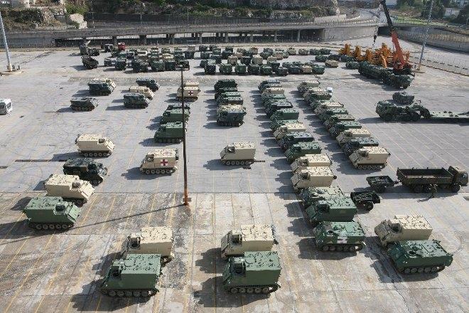 Τα τεθωρακισμένα οχήματα παραχωρήθηκαν δωρεάν από τα αποθέματα του Στρατού των ΗΠΑ και η προμήθειά τους έγινε στο πλαίσιο των ισχυουσών συμφωνιών με τις Ηνωμένες Πολιτείες (LOA: Letter of Agreement).