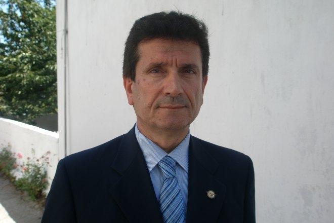 O πρόεδρος της Ένωσης Αποστράτων Αξιωματικών Αεροπορίας κ. Κώστας Ιατρίδης.