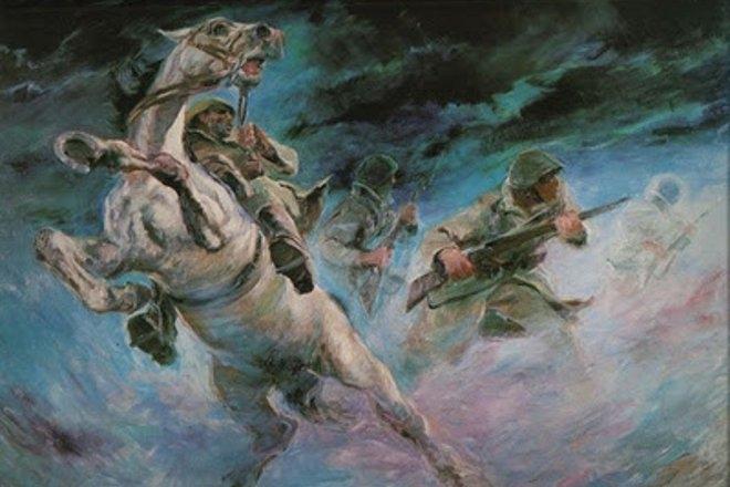 Το Ιππικό συμμετείχε ένδοξα στον Ελληνοιταλικό και Ελληνογερμανικό πόλεμο, συνεισφέροντας στις επιτυχίες των ελληνικών όπλων, με τρείς Σχηματισμούς: την Μεραρχία Ιππικού, την Ταξιαρχία Ιππικού και την ΧΙΧ Μηχανοκίνητη Μεραρχία.
