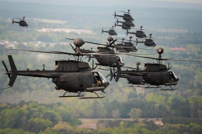 Τα OH-58D Kiowa Warrior θα χρησιμοποιηθούν δε για την άμυνα των νησιών και για την περαιτέρω βελτίωση του επιπέδου ετοιμότητας αντίδρασης των δυνάμεων των νήσων.