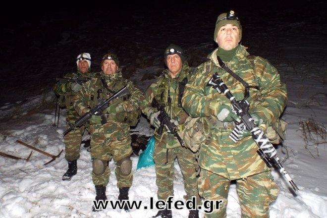 τις εγκαταστάσεις του Κέντρου Εκπαίδευσης Ορεινού Αγώνα Χιονοδρόμων βρέθηκαν τα τελευταία 24ωρα μέλη της Λέσχης Εφέδρων Ενόπλων Δυνάμεων, από διάφορες περιοχές της χώρας!