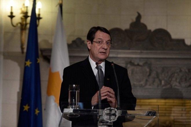 Ο Πρόεδρος της Κυπριακής Δημοκρατίας κ. Νίκος Αναστασιάδης.